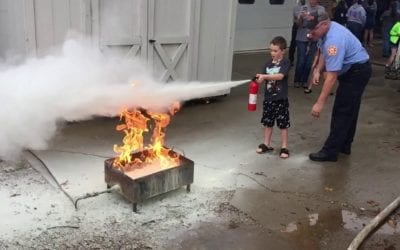 Using an Extinguisher? Remember P.A.S.S.